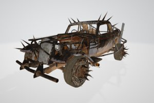 3D mad dune buggy