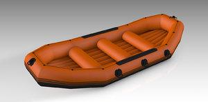 rafting ship boat 3D