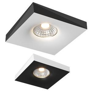 01100x miriade lightstar recessed 3D model