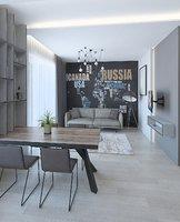 Modern small apartment in Vilnius