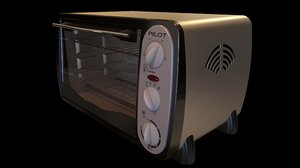 3D toaster oven model