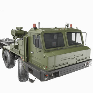 3D russian artillery vehicle