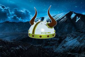 vikings helmet 3D