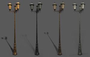 parisian lamp 3D
