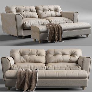 sofa arden lion 3D model
