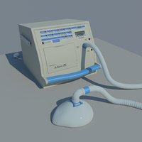 Portable medical ventilator