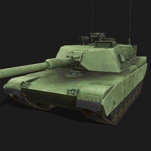 m1 abrams tank model