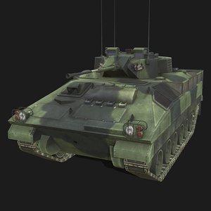 3D fv511 warrior model