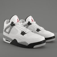 Air Jordan 4 Retro Cement PBR