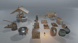 pack medieval 3D