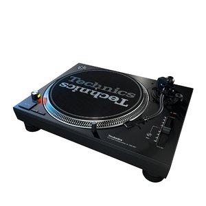 3D technics sl-1200 mk7 turntable