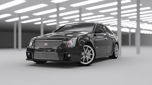 car cadillac cts-v 3D model