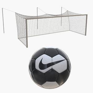 soccer goal ball 3D