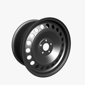 wheel rim vehicle 3D model