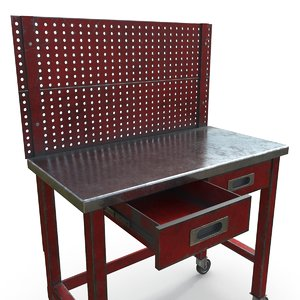 workbench table pbr 3D