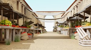 3D sand marketplace east