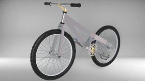 bike ruthless brand velo 3D model