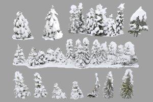 frozen forest hd pack 3D