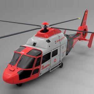 3D northern nhc notarzt airbus model