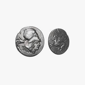 coin v2 3D model