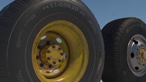 clean version truck tires model