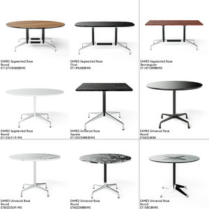 3D model eames hermann miller tables