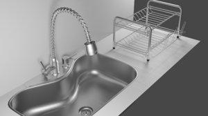 kitchen sink drainer model