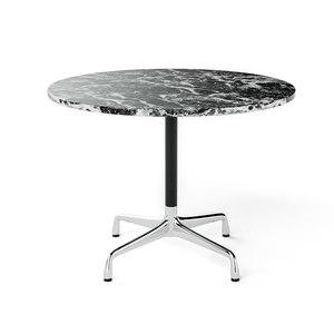 3D model eames hermann miller tables