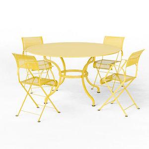 3D fermob dune romane seats