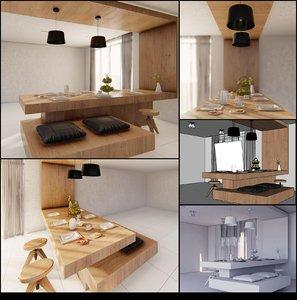 3D sketchup render lumion model