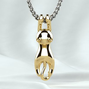 3D pendant printing jeweler