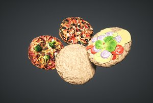 pizza pack 3D model