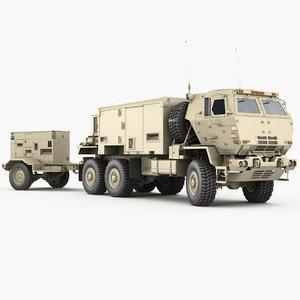 tpq-53 generator operations control 3D model