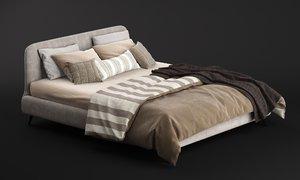 3D aris bed ditre italia