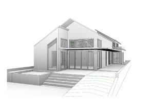3D revit single house