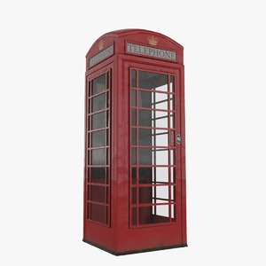 3D english phonebox
