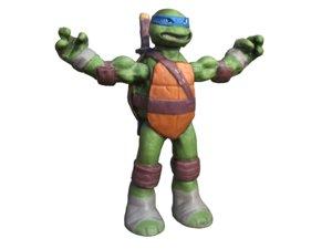 3D model ninja turtle leonardo