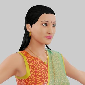character indian south 3D