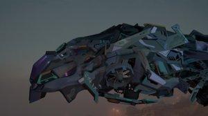aircraft vehicle 3D model