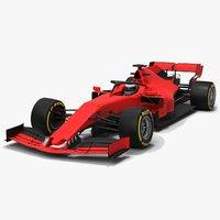 Formula 1 Red Car F1 Season 2019
