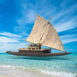 drua boat model