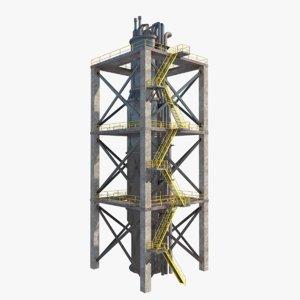 3D nuclear refinery unit