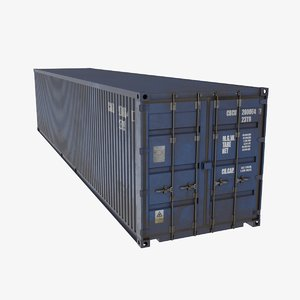 40ft iso container model