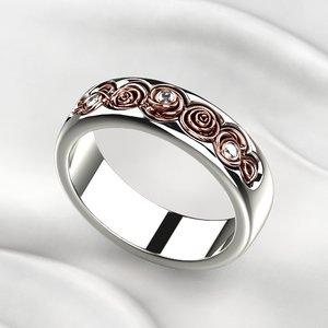3D model printing ring