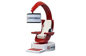 hospital health screening chair 3D
