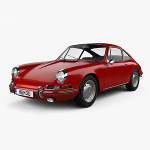 porsche 912 1966 3D