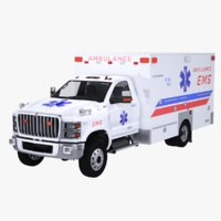 International CV EMS Ambulance