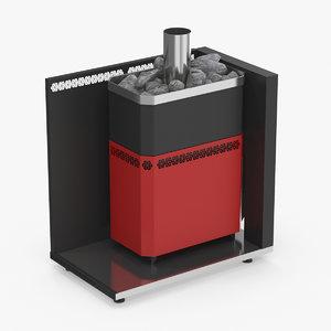 3D bath stove