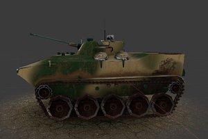 3D tank bmd-4m model