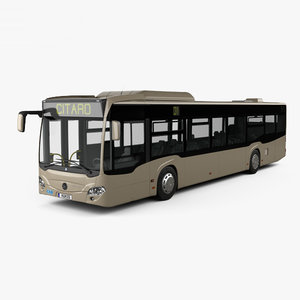 mercedes-benz citaro 2 3D model